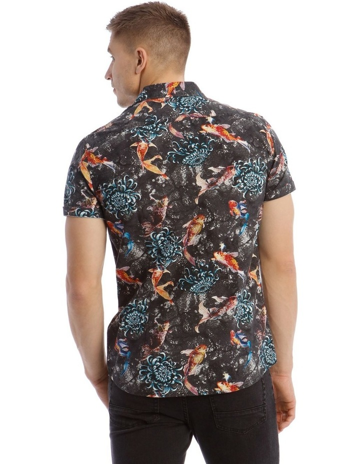 Jamaica Short Sleeve Resort Print Shirt image 3