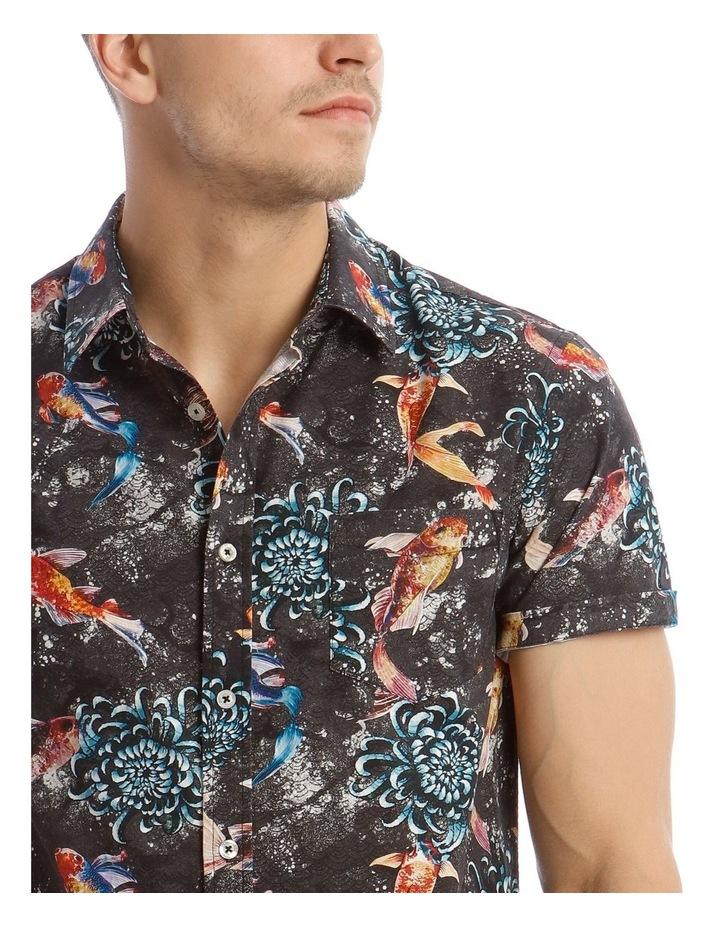 Jamaica Short Sleeve Resort Print Shirt image 4