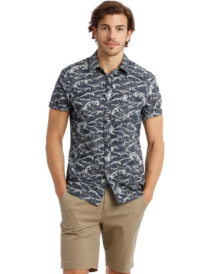 Anemone Short Sleeve Print Shirt image 1