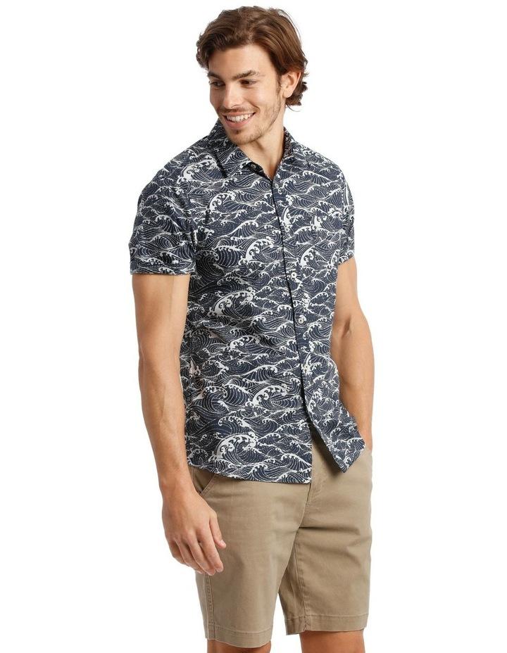 Anemone Short Sleeve Print Shirt image 2