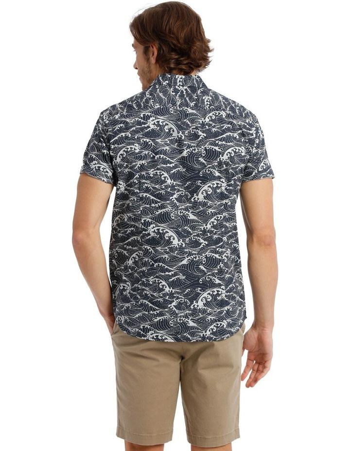 Anemone Short Sleeve Print Shirt image 3