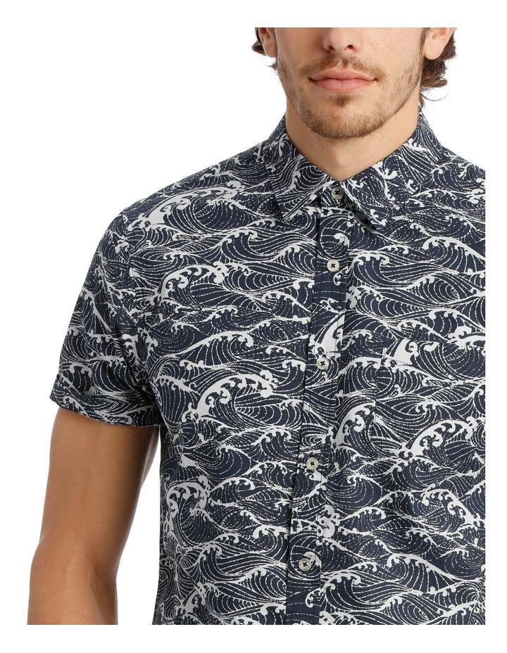 Anemone Short Sleeve Print Shirt image 4