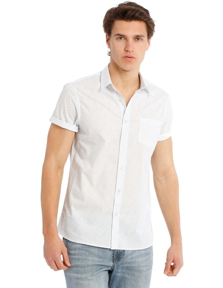 Broken Tide Short Sleeve Print Shirt image 1