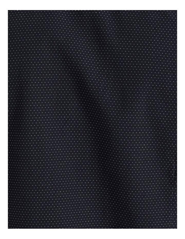 Daltry Dobby Short Sleeve Shirt Navy image 7