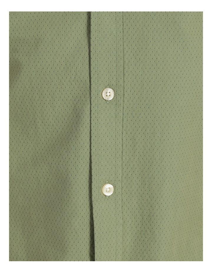Daltry Dobby Short Sleeve Shirt Khaki image 7