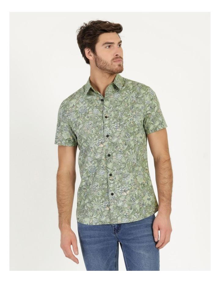 Banyan All Over Reverse Print Short Sleeve Shirt image 2