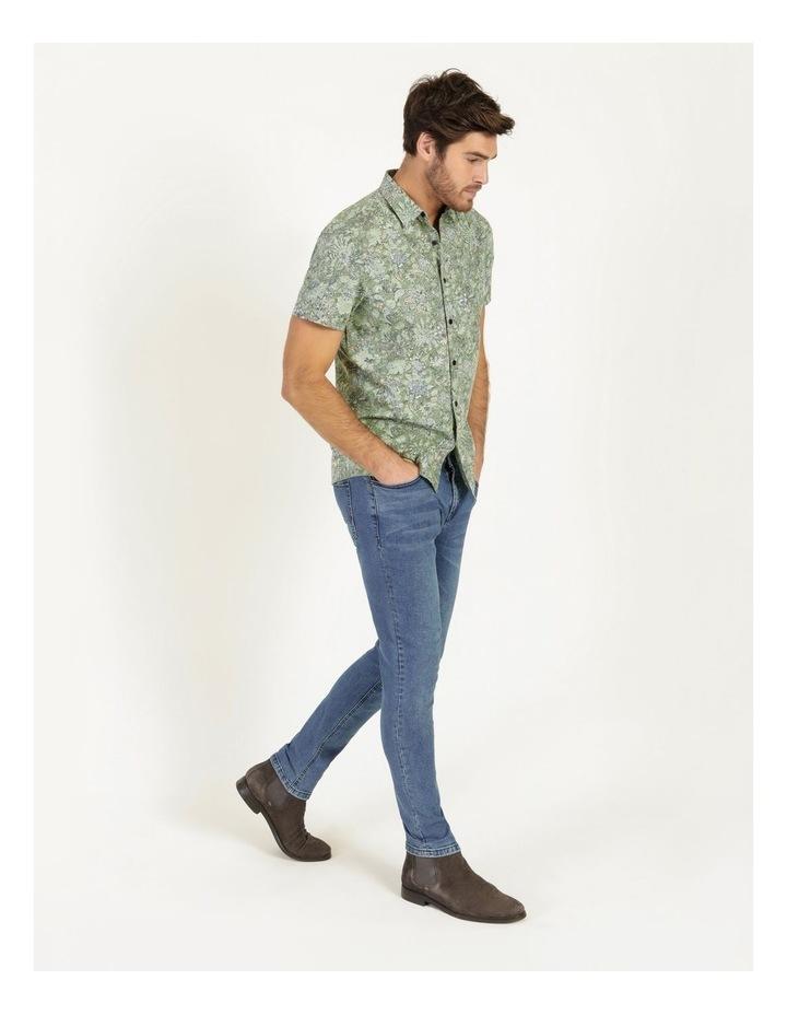 Banyan All Over Reverse Print Short Sleeve Shirt image 3