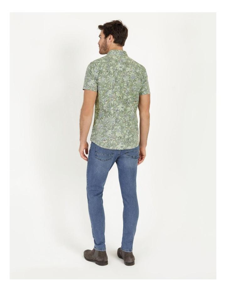Banyan All Over Reverse Print Short Sleeve Shirt image 4