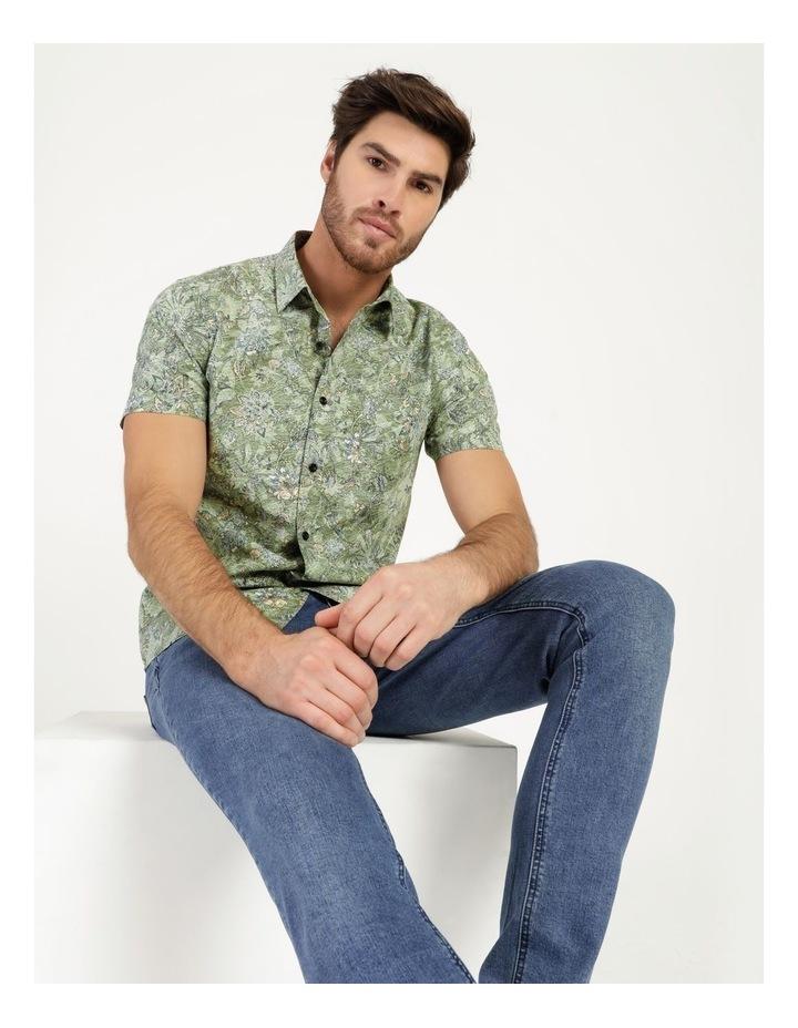Banyan All Over Reverse Print Short Sleeve Shirt image 5