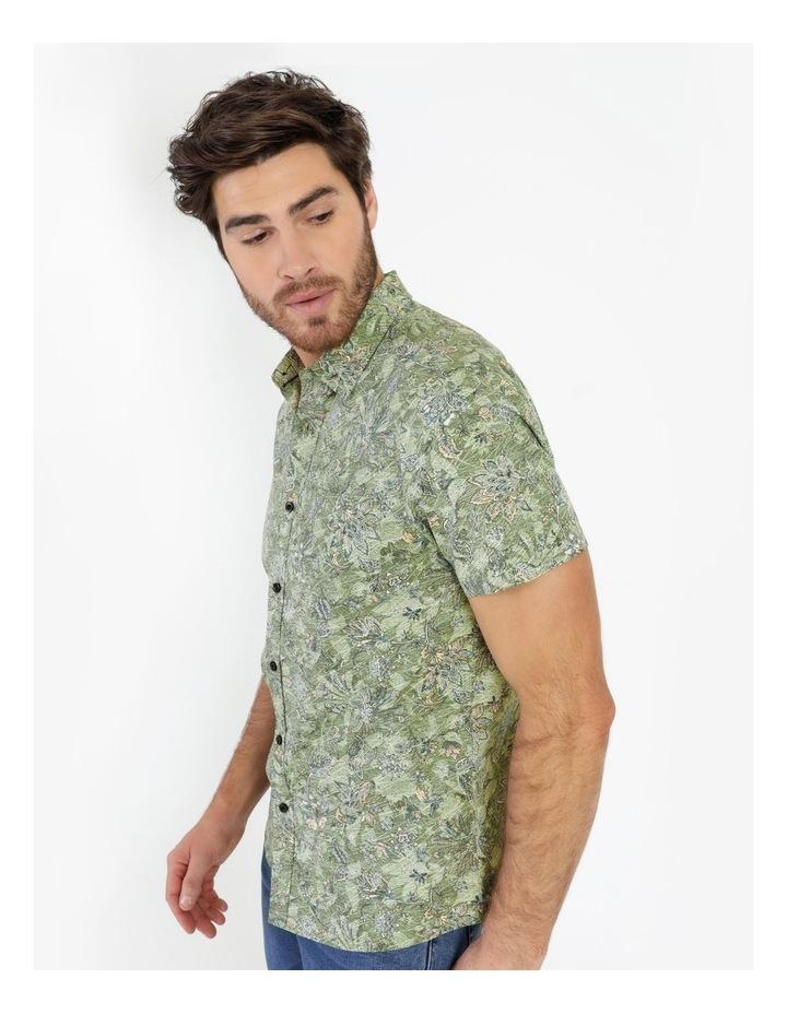 Banyan All Over Reverse Print Short Sleeve Shirt image 6