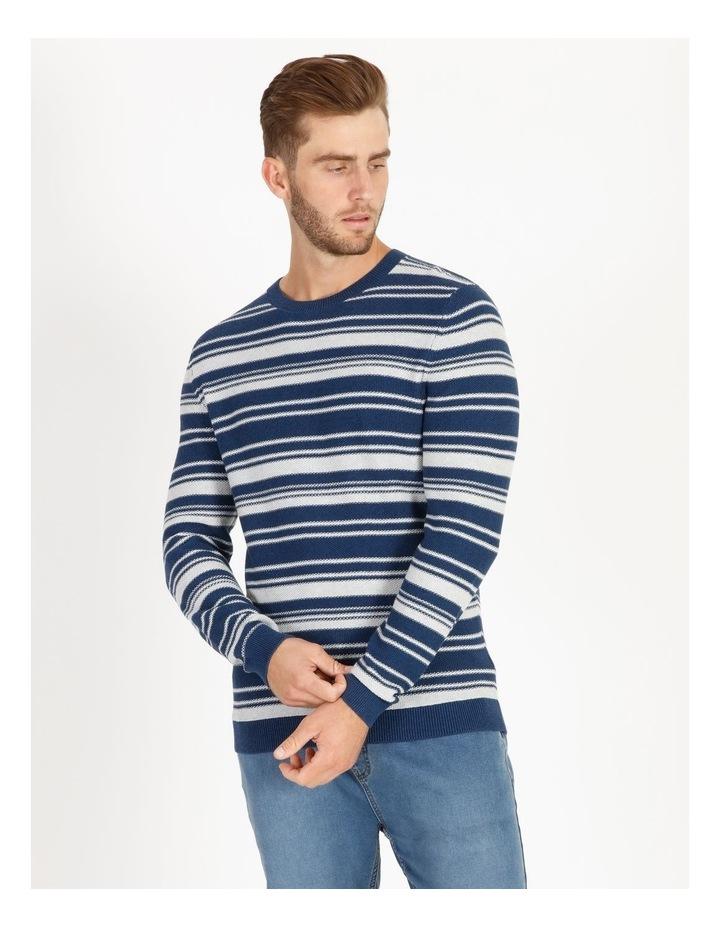 Mareeba Horizontal Stripe Knit Pullover image 1