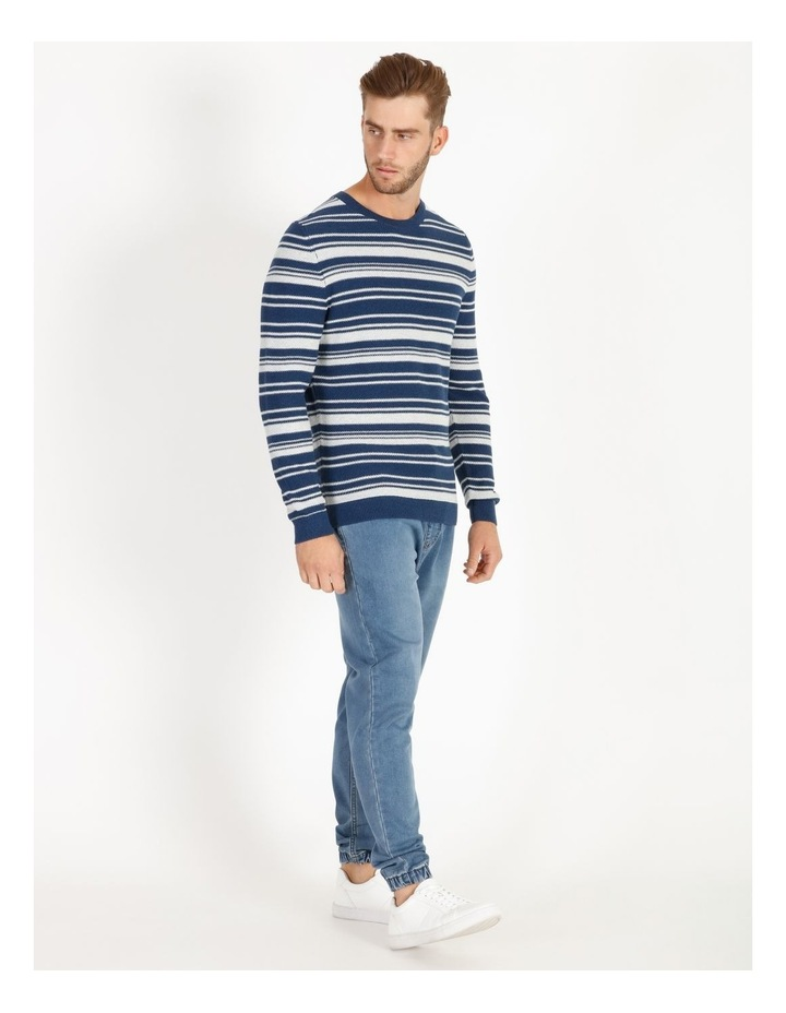 Mareeba Horizontal Stripe Knit Pullover image 2