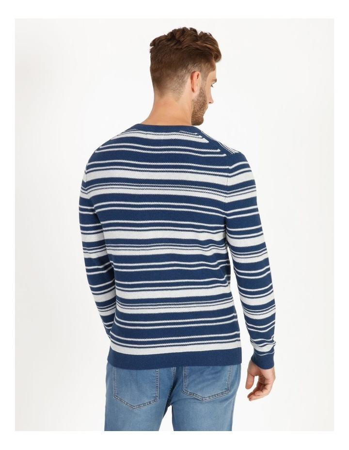 Mareeba Horizontal Stripe Knit Pullover image 3