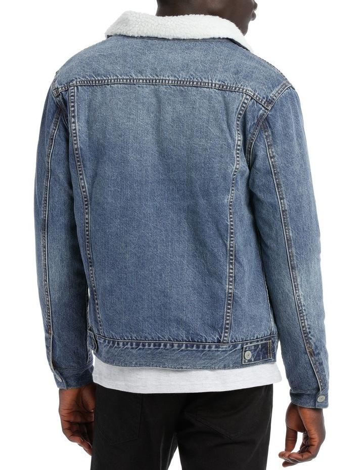 Gosling Sherpa Denim Jacket image 2