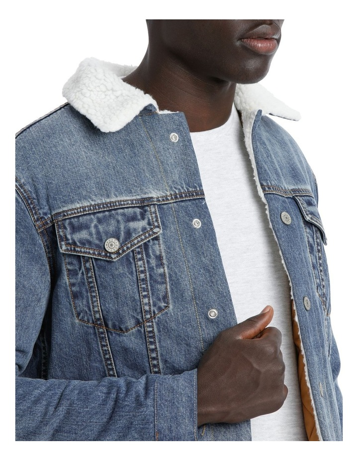 Gosling Sherpa Denim Jacket image 3