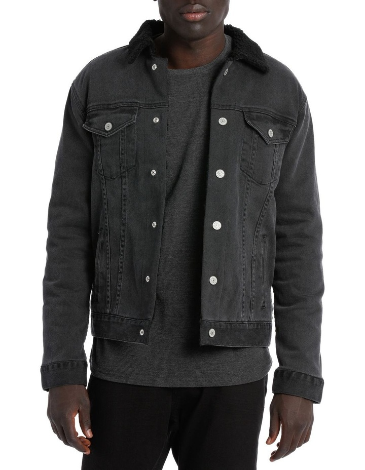GOSLING SHERPA DENIM JACKET image 1