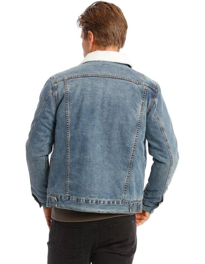 Bradley Sherpa Denim Jacket image 2