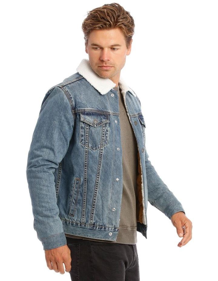 Bradley Sherpa Denim Jacket image 3