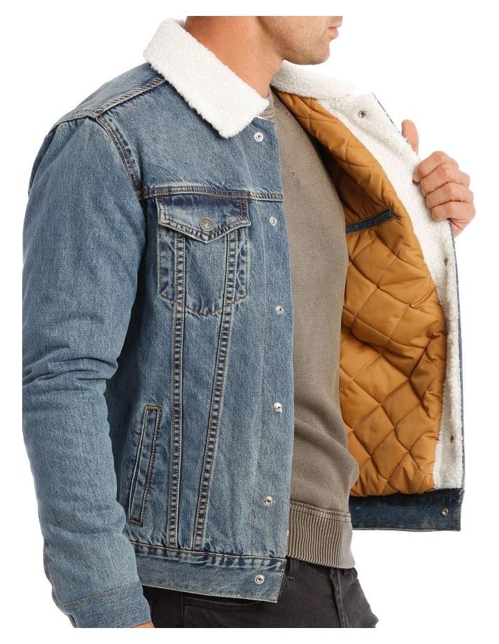 Bradley Sherpa Denim Jacket image 5