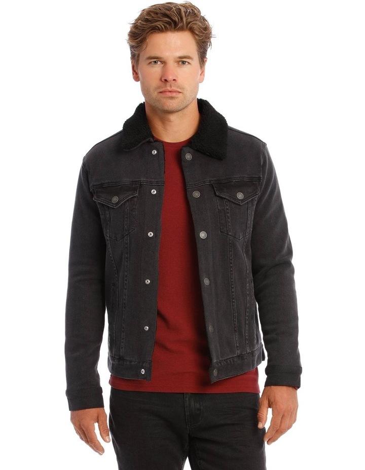 Bradley Sherpa Denim Jacket image 1