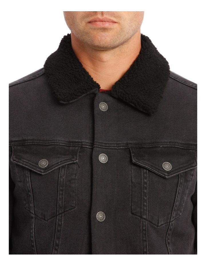 Bradley Sherpa Denim Jacket image 4