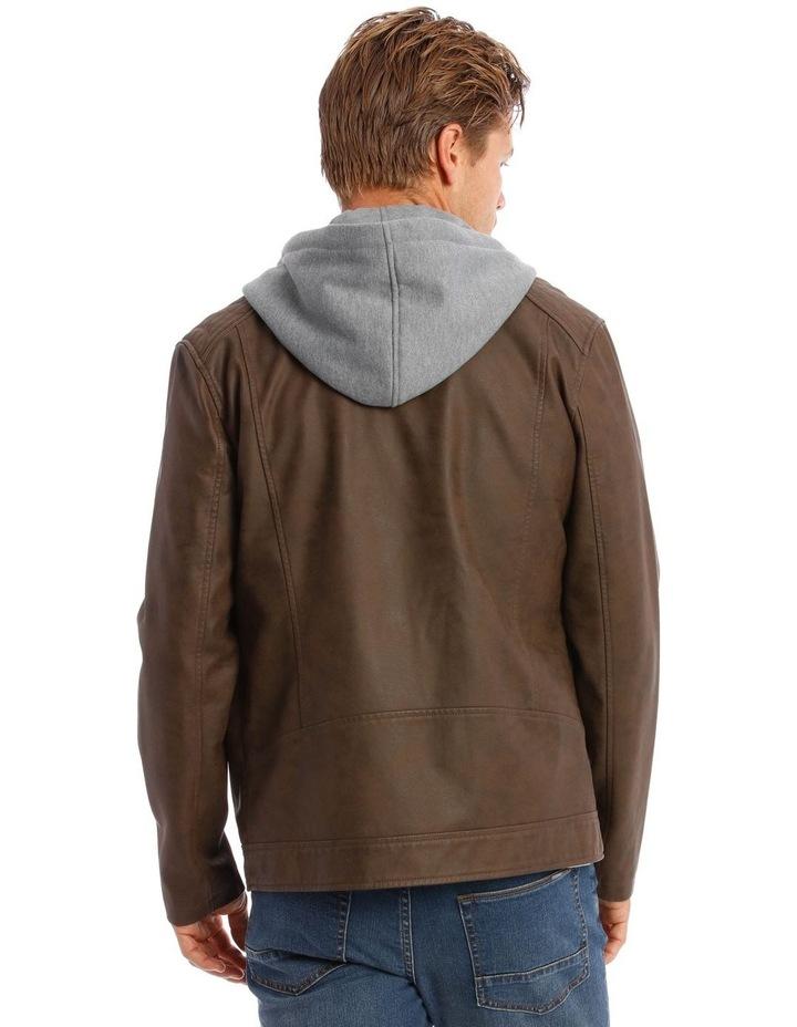 Deptford Pu Hooded Jacket image 2