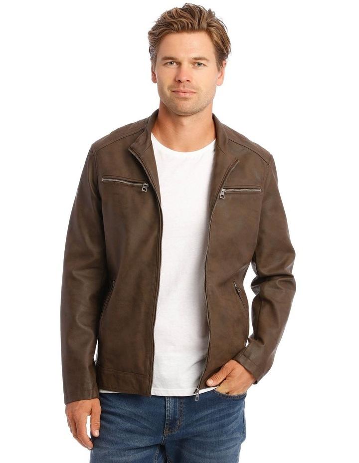 Deptford Pu Hooded Jacket image 5