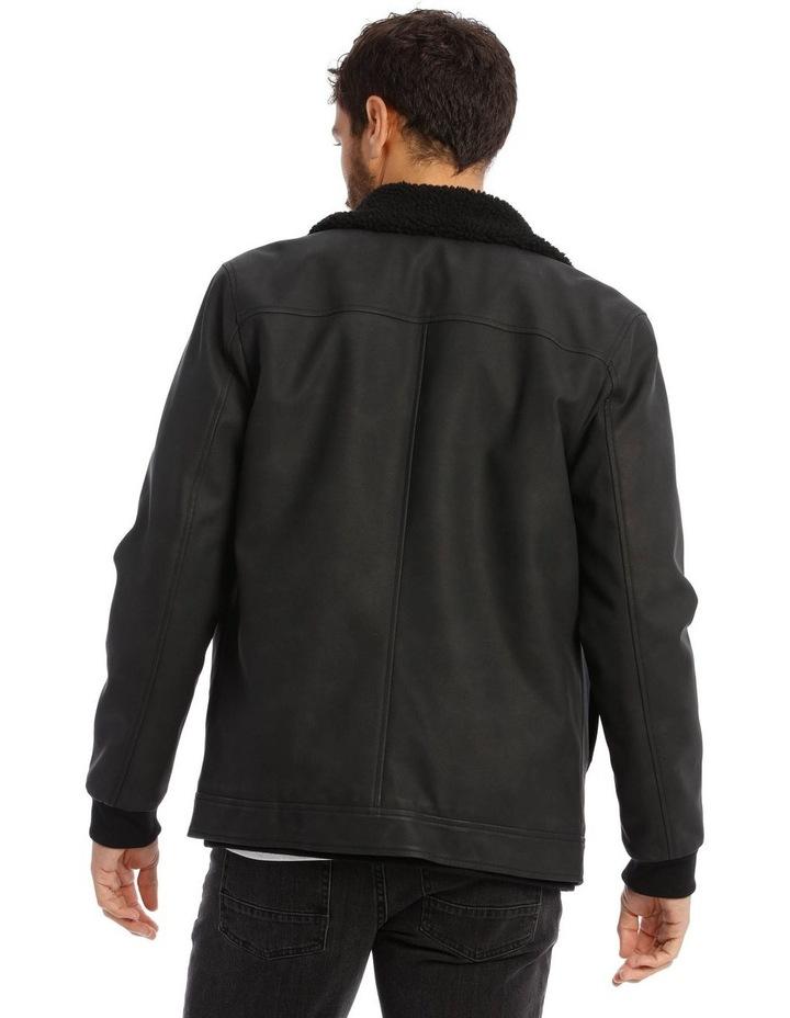 Camden PU Sherpa Jacket image 3