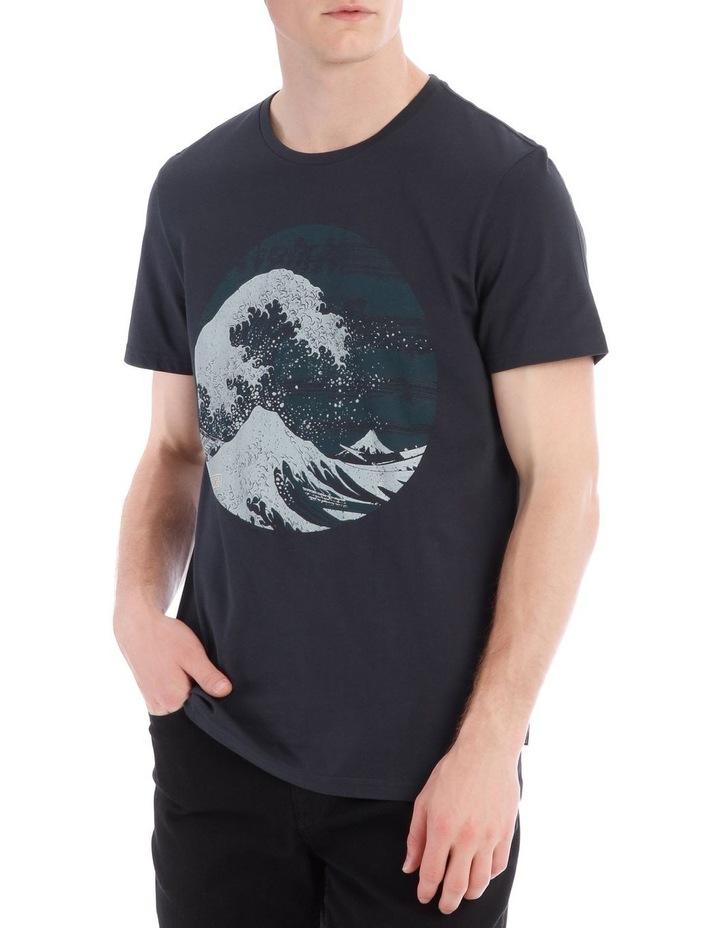 Great Wave Short Sleeve Print Tee image 1