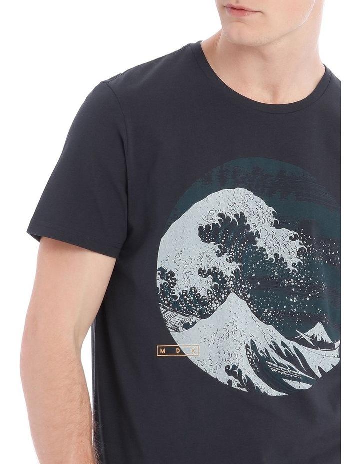 Great Wave Short Sleeve Print Tee image 4