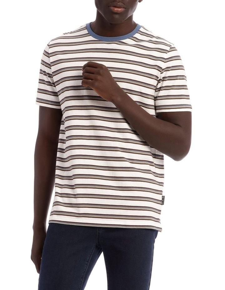 Sal Short Sleeve Stripe Tee image 1