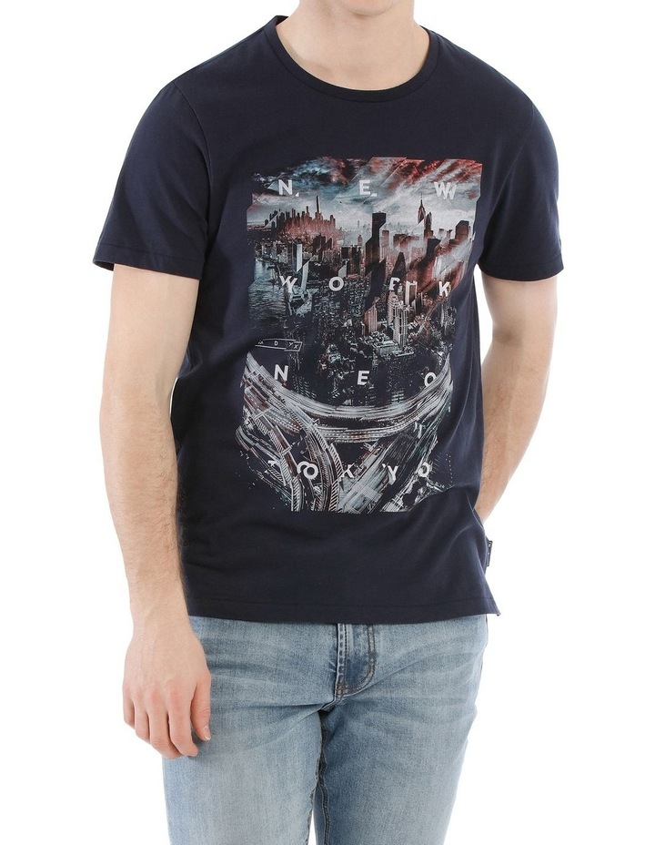 City 45 Short Sleeve Print Tee image 1