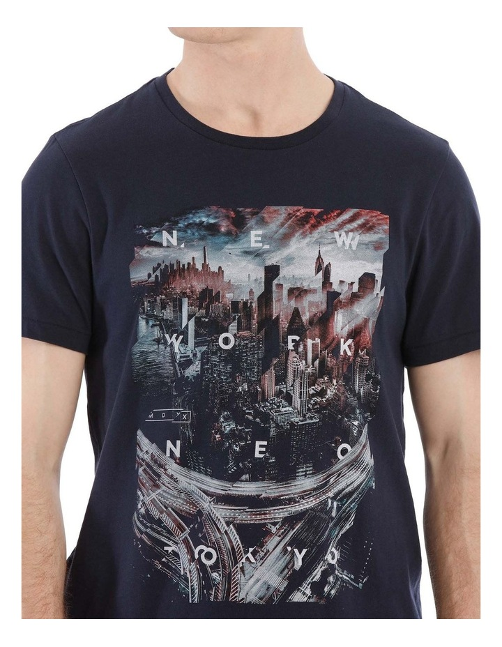 City 45 Short Sleeve Print Tee image 4