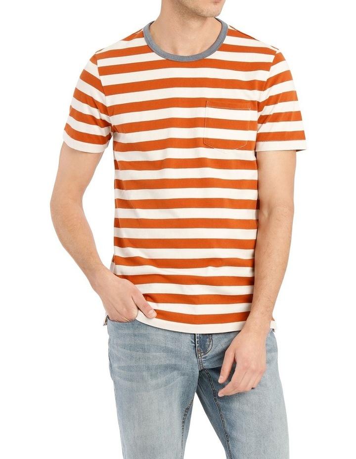 Solstice Short Sleeve Stripe Tee image 2