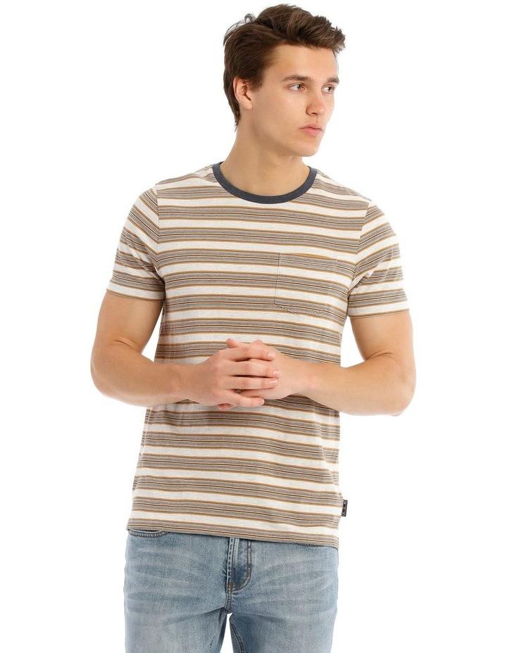 Mirage Short Sleeve Stripe Tee image 1