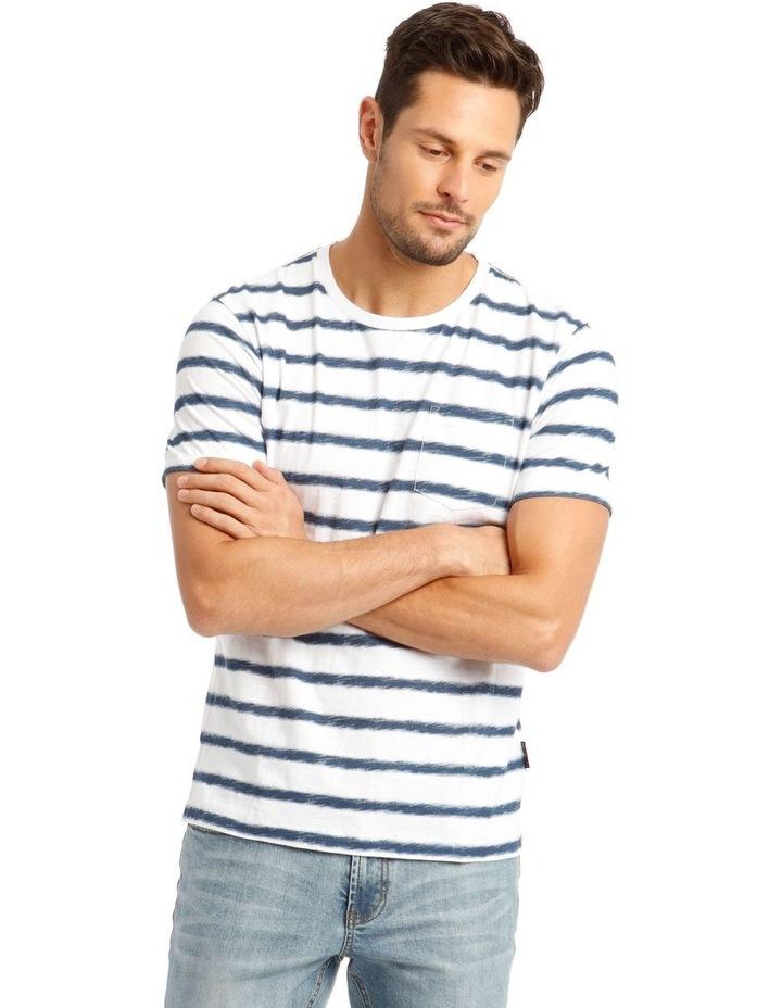 Ripple Short Sleeve Stripe Tee image 1