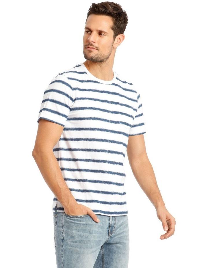 Ripple Short Sleeve Stripe Tee image 2
