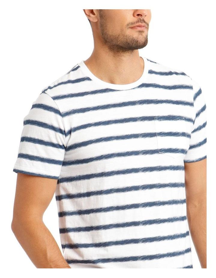 Ripple Short Sleeve Stripe Tee image 4