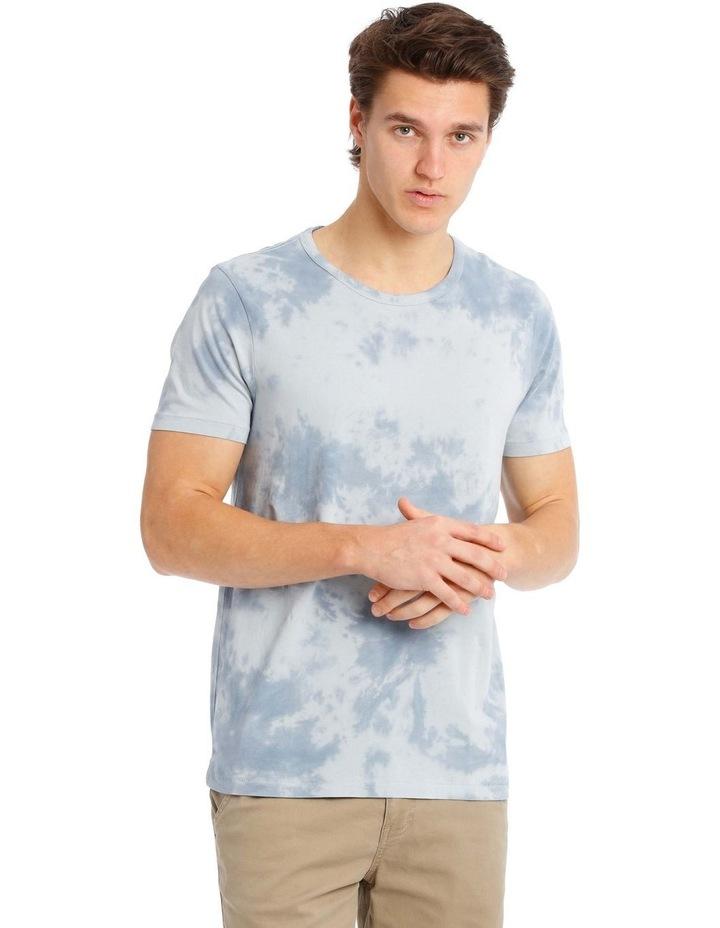 Shallow Short Sleeve Tie Dye Tee image 1