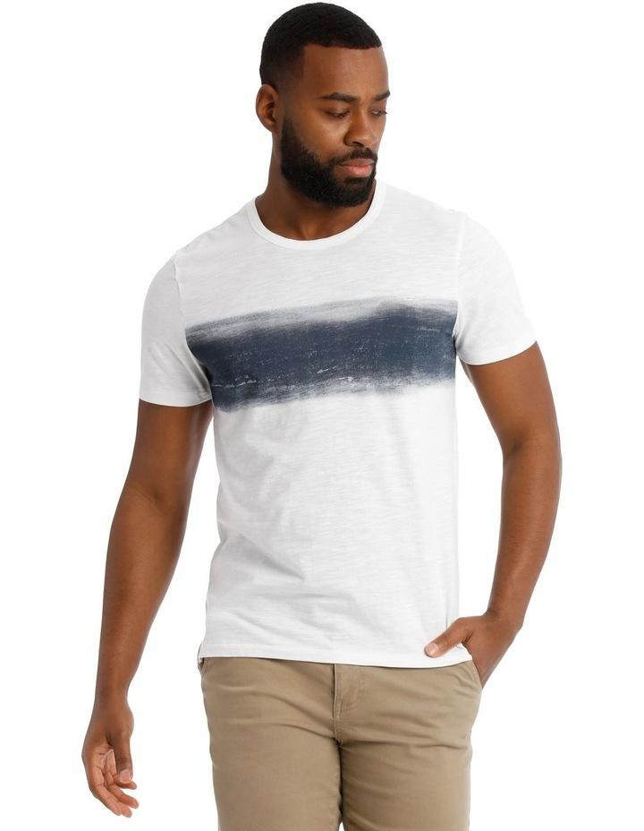 Blue Ray Short Sleeve Stripe Tee image 1