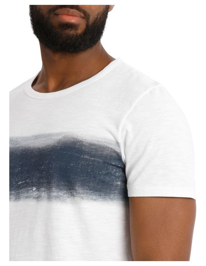 Blue Ray Short Sleeve Stripe Tee image 4