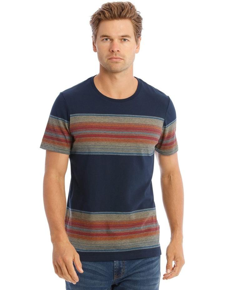 Mill Short Sleeve Stripe Tee image 1