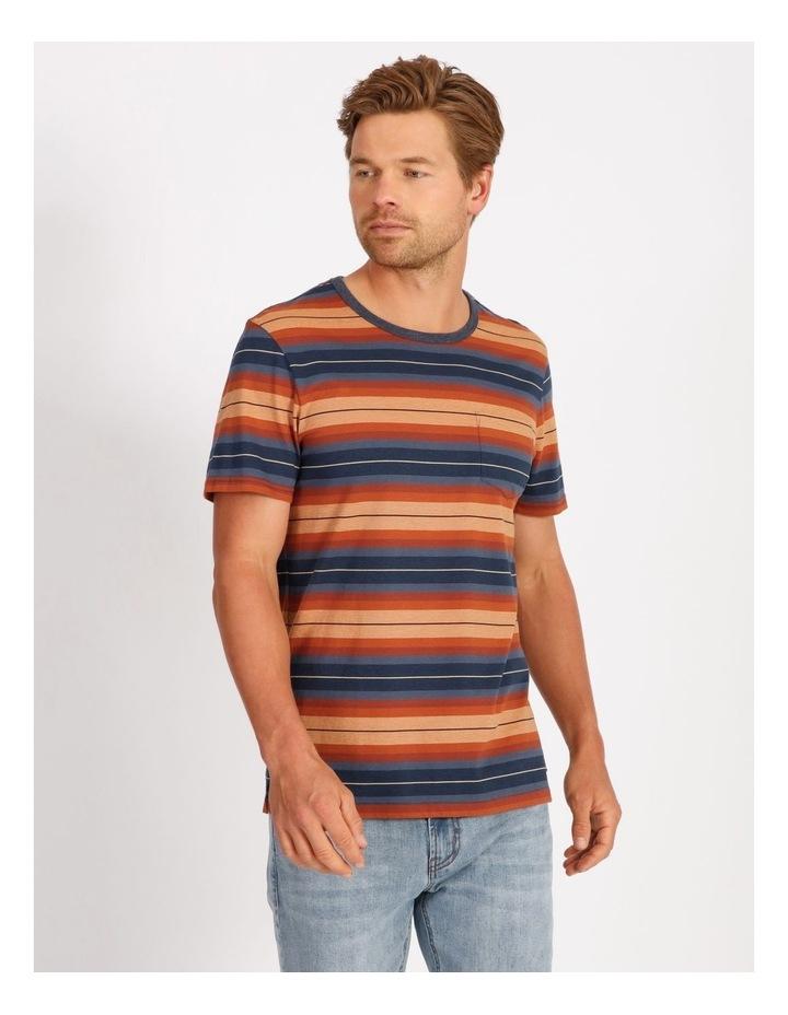 Helios Short Sleeve Stripe Tee image 1