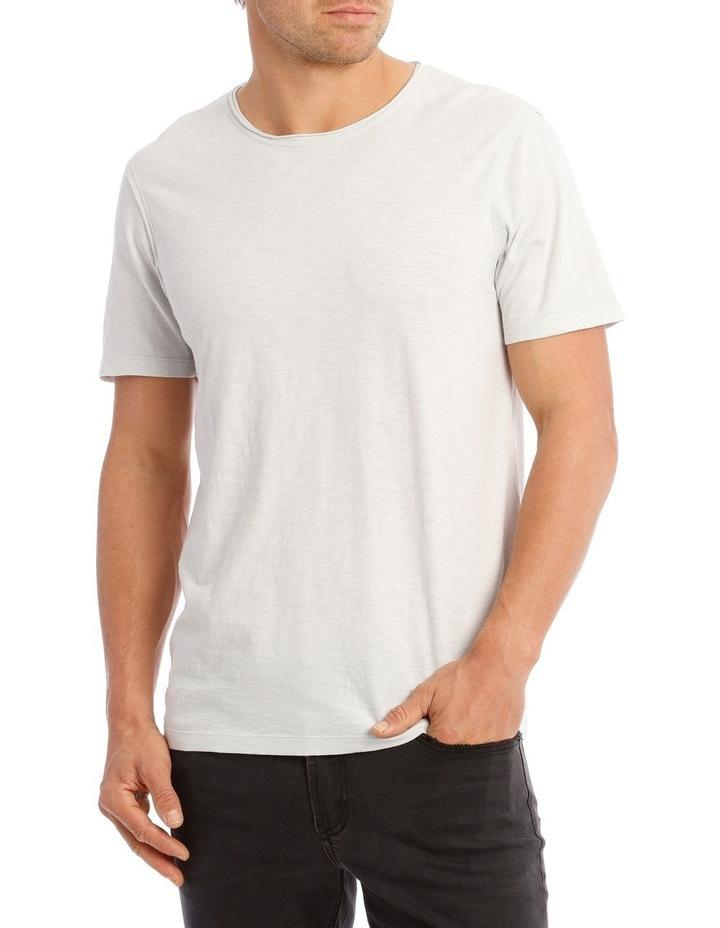 Cottesloe Short Sleeve Tee in Pale Grey image 1