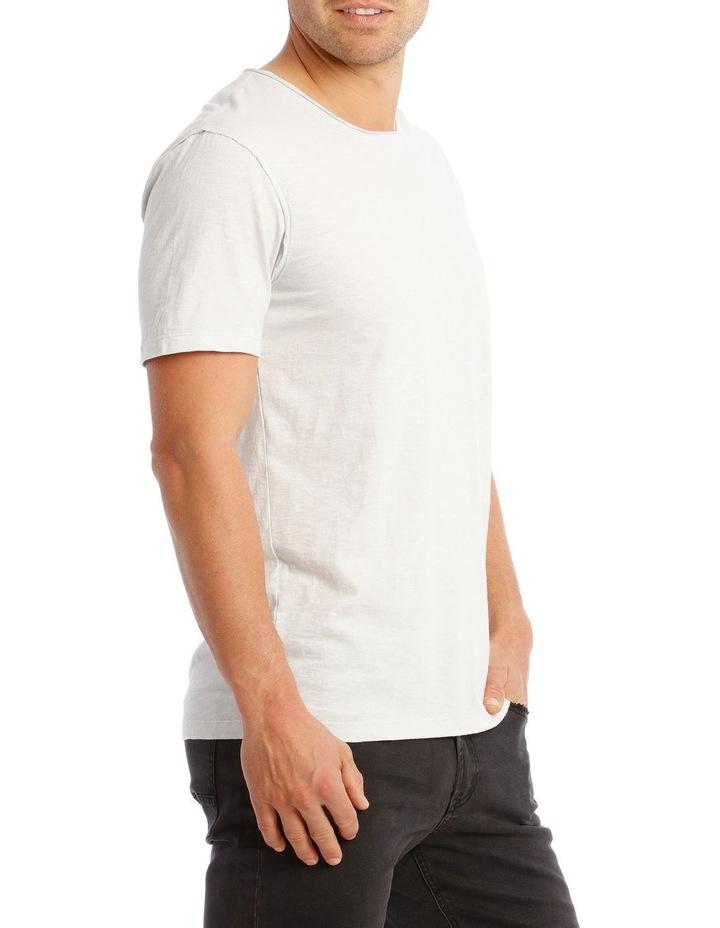 Cottesloe Short Sleeve Tee in Pale Grey image 2