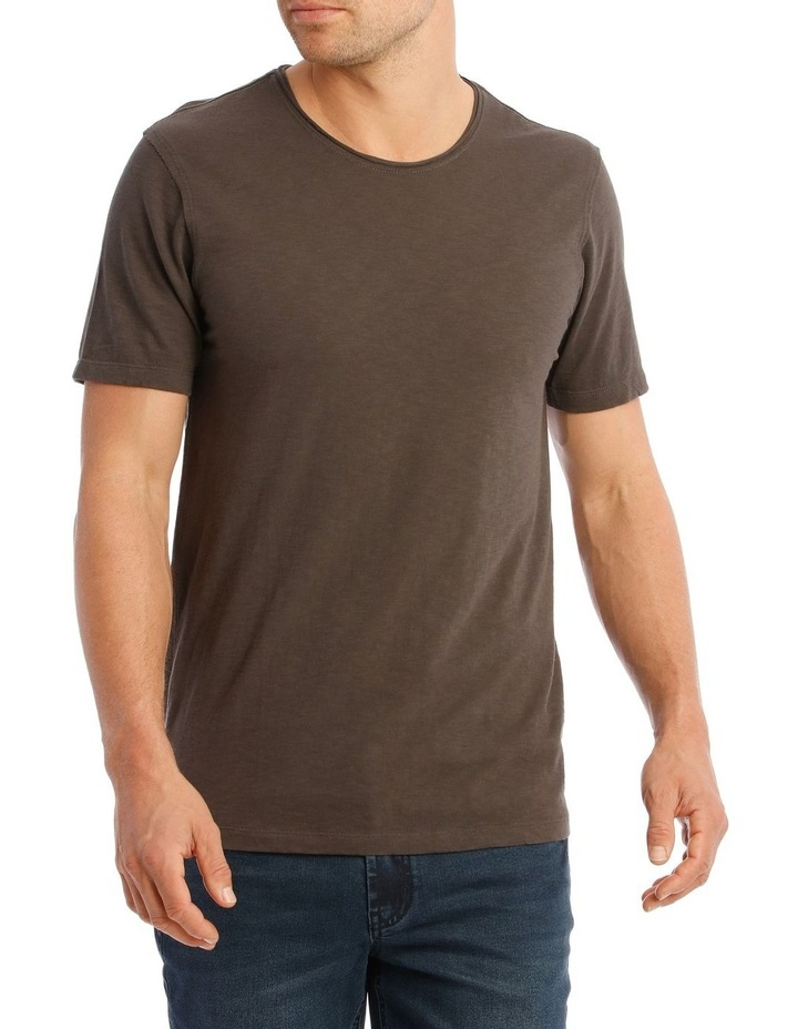 Cottesloe Short Sleeve Tee in Charcoal image 1