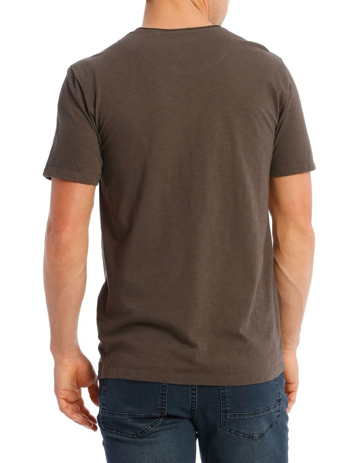 Cottesloe Short Sleeve Tee in Charcoal image 3
