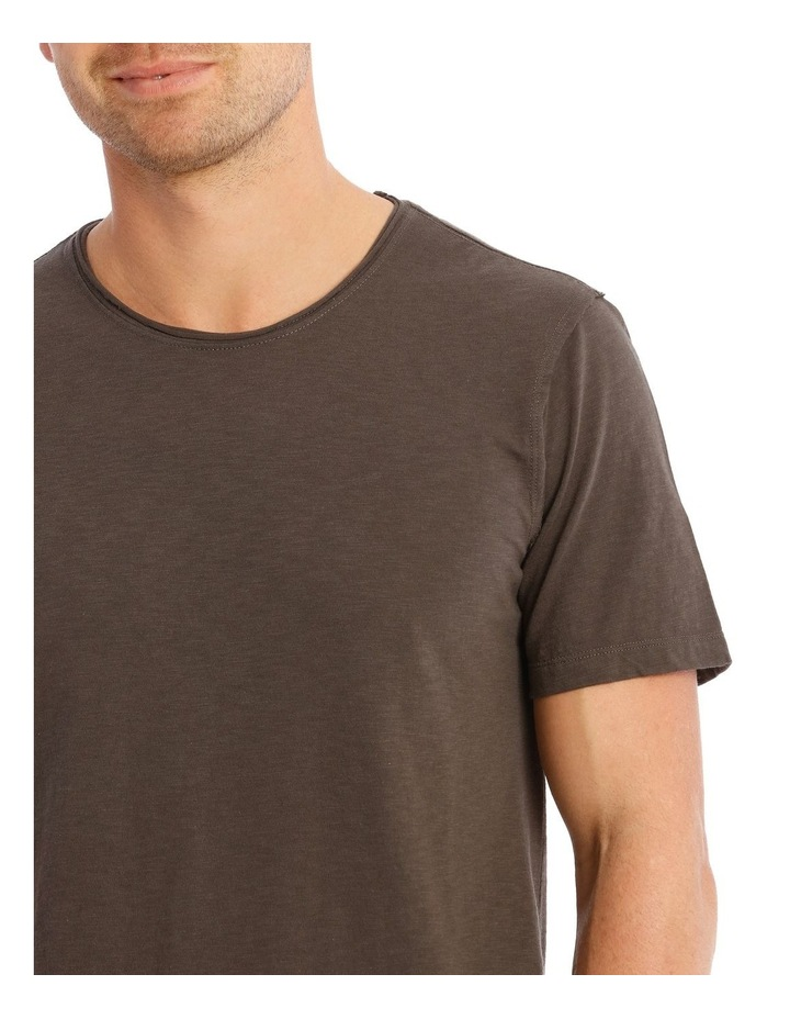 Cottesloe Short Sleeve Tee in Charcoal image 4