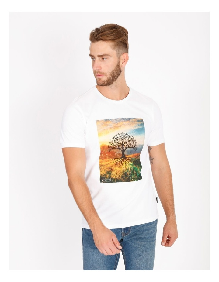 Bourke Placement Print Tee image 1