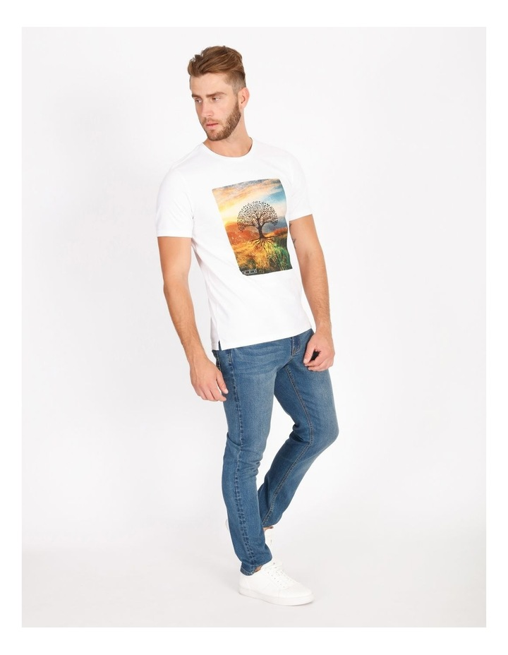 Bourke Placement Print Tee image 2